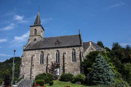 Church in Isenburg on the Iserkopf Westerwald Фото со стока