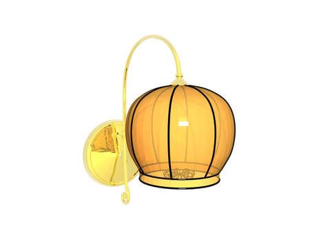 Lamp for lighting in the living room