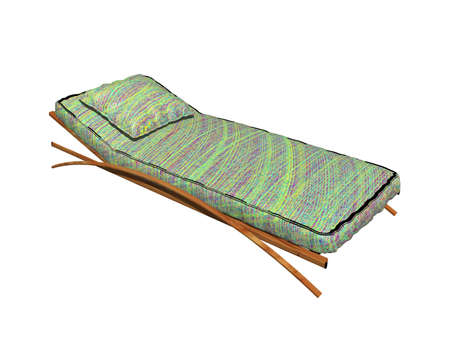 Lounger with upholstery as furniture