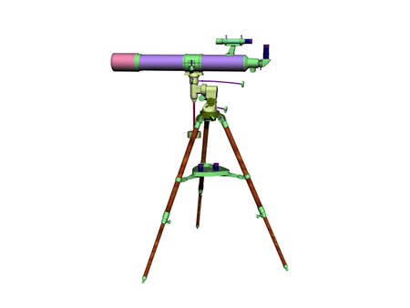Telescope as a telescope in science 版權商用圖片