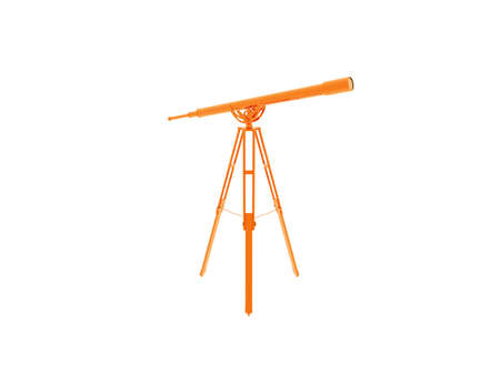 Telescope on a tripod