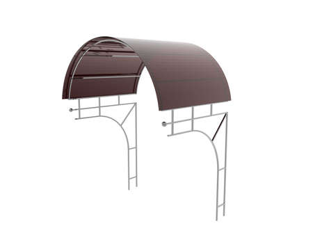 Tin roof as a roof and weather protection