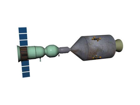 soujus Apollo Rondevouz in space