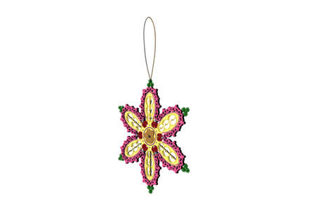 self-made jewelry star to hang on