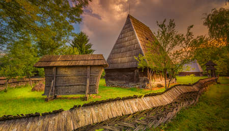 Romanian village photo