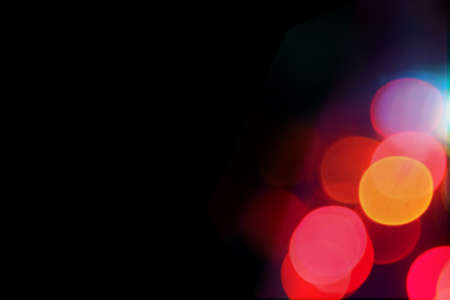 Colorful bokeh for image editing 스톡 콘텐츠