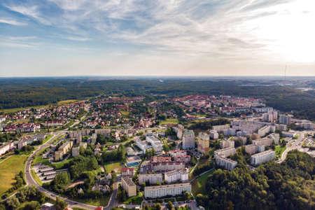 Gdynia, Poland - August 22, 2019: Suburbs panorama view