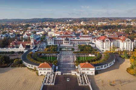 17.10.2019 Sopot, Poland Aerial View