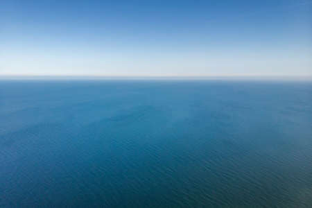 Aerial view of the Sea. Ocean view from above. Quote background. Blog. Social Media.