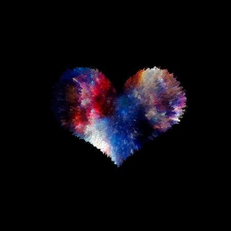 Moon Heart ShapeMoon