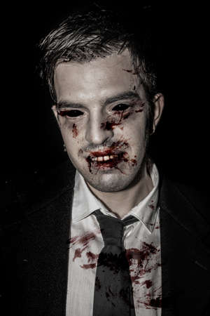 Vampire Portrait, Halloween Collection  Stock Photo