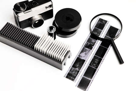 Vintage tools for film photography