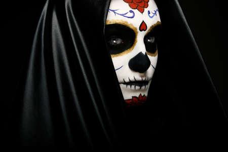 skull character: Sugar Skull headshot