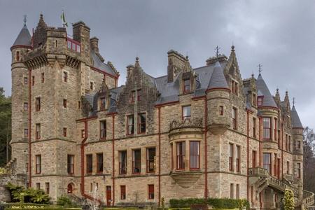 northern ireland: Belfast Castle at Cavehill Country Park, Belfast, Northern Ireland