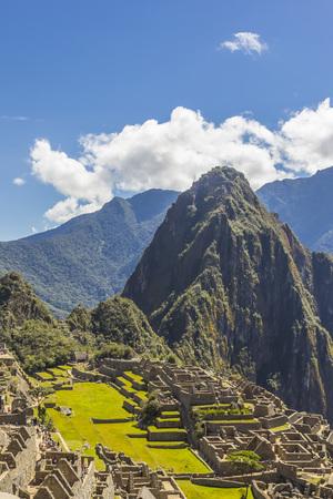 cuzco: Machu Picchu, Inca ruins at Cuzco Peru