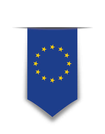유럽 연합 페넌트 일러스트