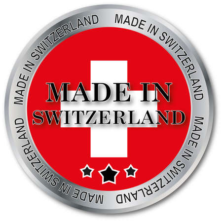 exempted: Swiss made button