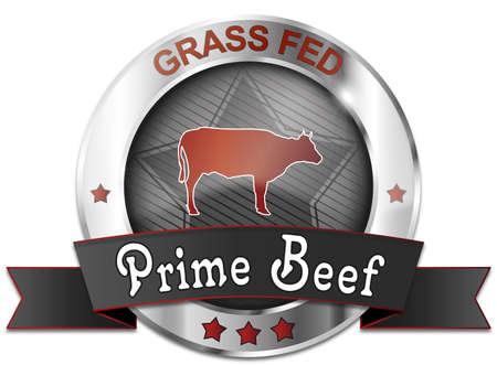 gras gevoed prime beef icon