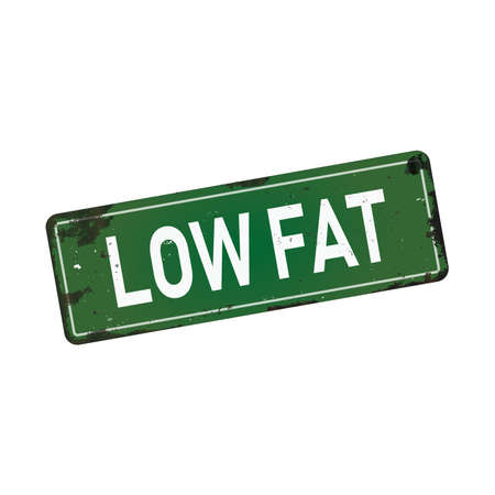 low fat dirty rusty metal icon plate sign