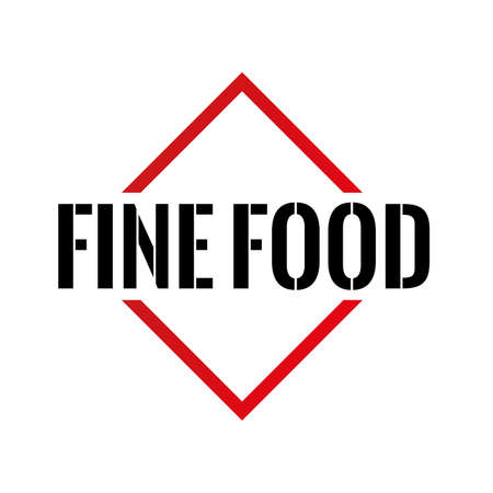 Fine food Triangle ou pyramide ligne art vecteur icône