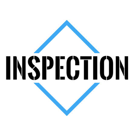 inspection Triangle or pyramid line art vector icon