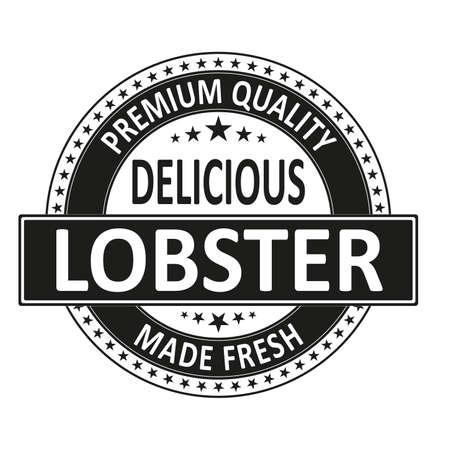 Fresh Lobster Seafood Restaurant web Rubber Stamp