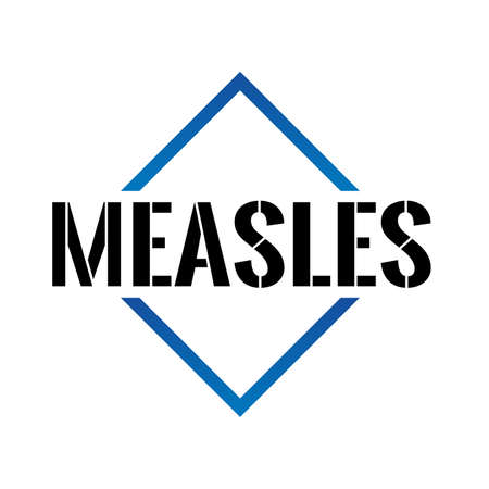 Triangle or pyramid line art vector icon measles Illustration