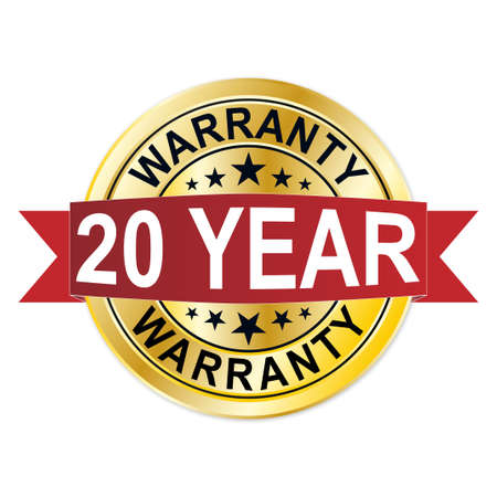 warranty 20 years of experience golden label