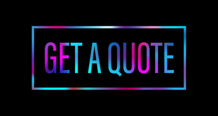 get a quote call to action colored text logo