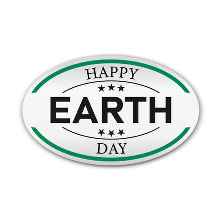 Earth Day. Eco friendly concept. Vector illustration. Earth day concept. World environment day background. Save the earth. Happy Earth Day Poster or Banner Background. Ilustração