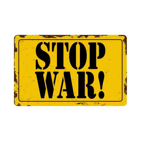 No War warning sign Icon - Vector, Sign and Symbol for Design, Presentation, Website or Apps Elements.