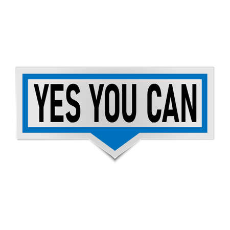 yes you can. Life quote with modern background vector illustration.