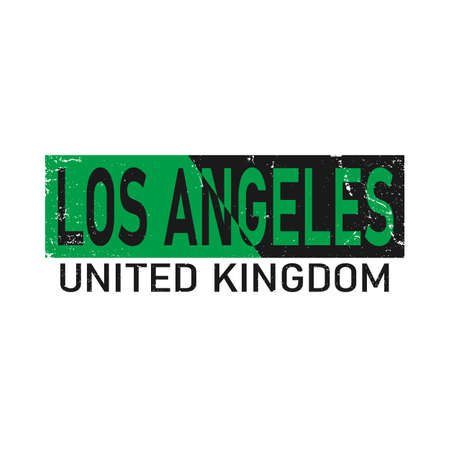 Los angeles. typography, Fashion . T-shirt graphic vector Print
