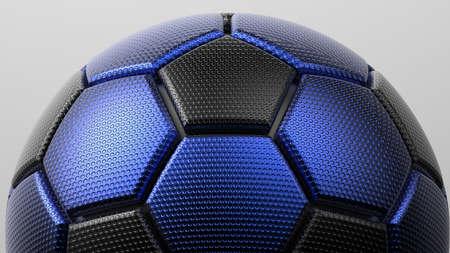 Soccer Ball. 3D illustration. 3D CG. High resolution. 写真素材