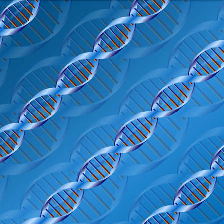 microcosmic: Science dna structure abstract design background.