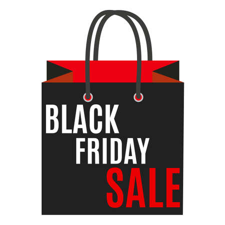 miserly: Black Friday Sale Label Vector Illustration EPS10