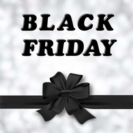 negro: Viernes Negro Diseños ilustración. Vectores