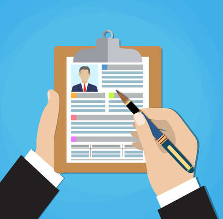 Resume Writing Stock Photos & Pictures. Royalty Free Resume ...