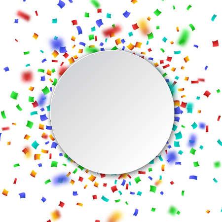 celebration background: Colorful celebration background with confetti.
