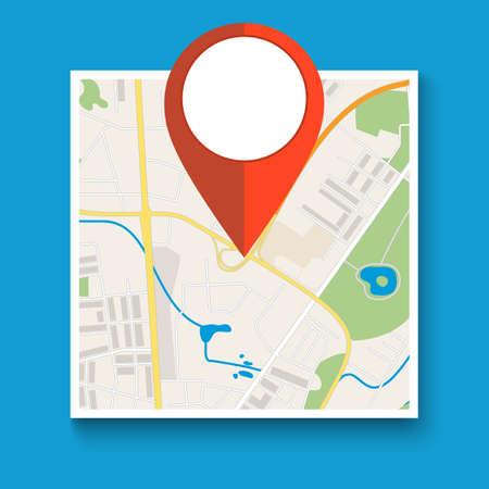 Navigation geolocation icon.