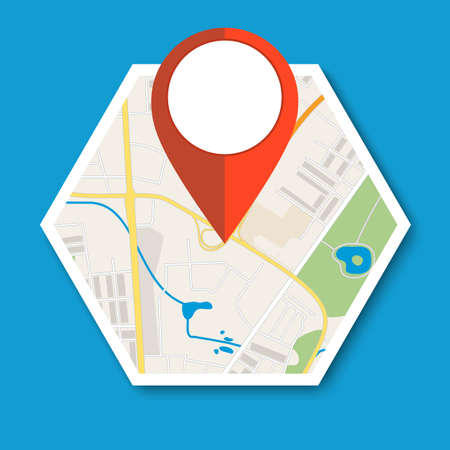 geolocation: Navigation geolocation icon.