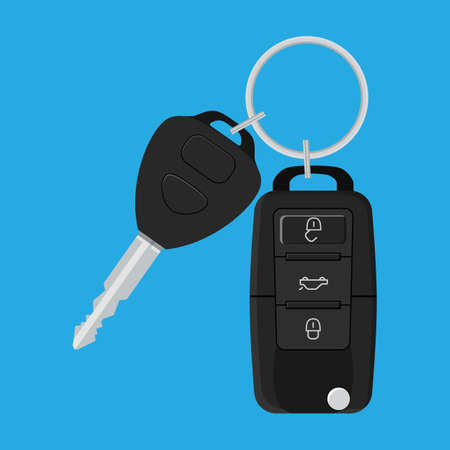 keyholder: Car Key and of the alarm system.