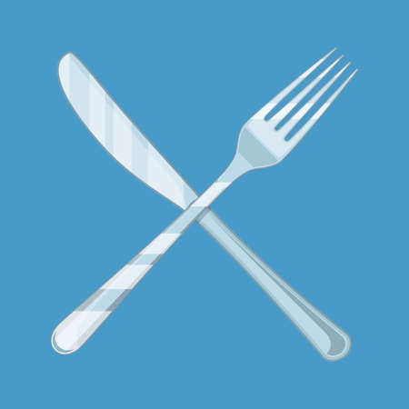 Crossed Knife and fork.