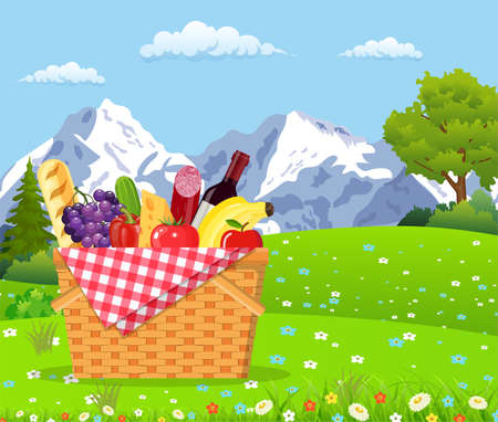 wicker: Picnic in the Mountains