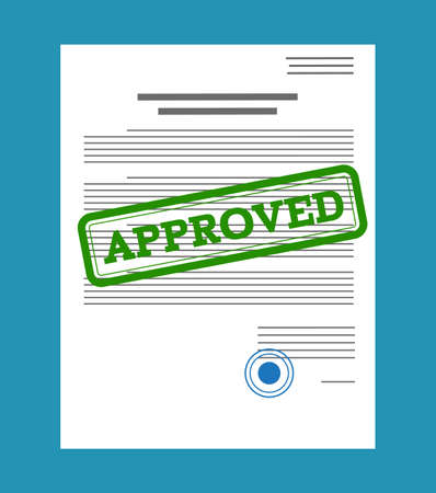 Documento cartaceo approvato