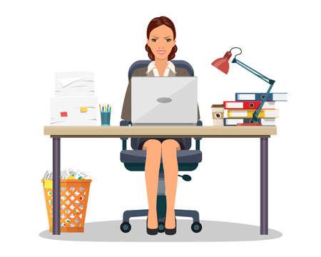 Biznesowa kobieta przedsiębiorca