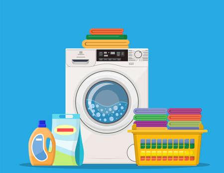 Washing machine icon Stock Photo