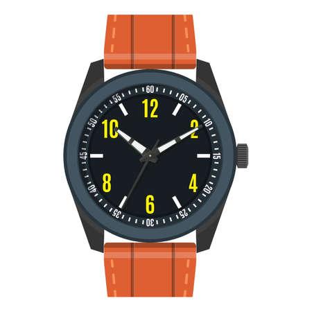 Wristwatch businessman icon