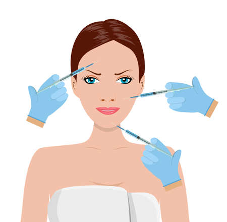 Hyaluronic acid facial injection,