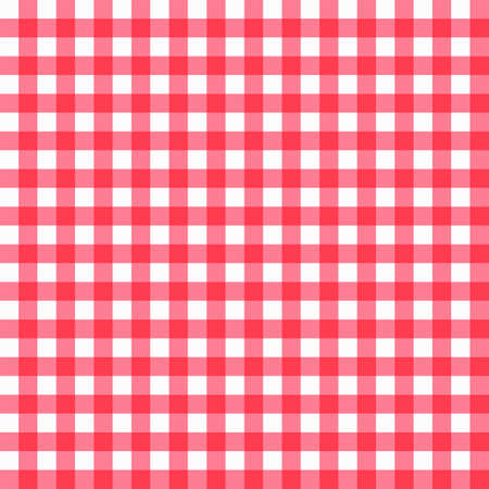 Seamless Checkered Pattern Illustration